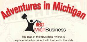 MichBusiness Awards 2016 Logo